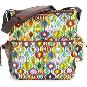 SKIP HOP Jonathan Adler Dash Diaper Bag EUC